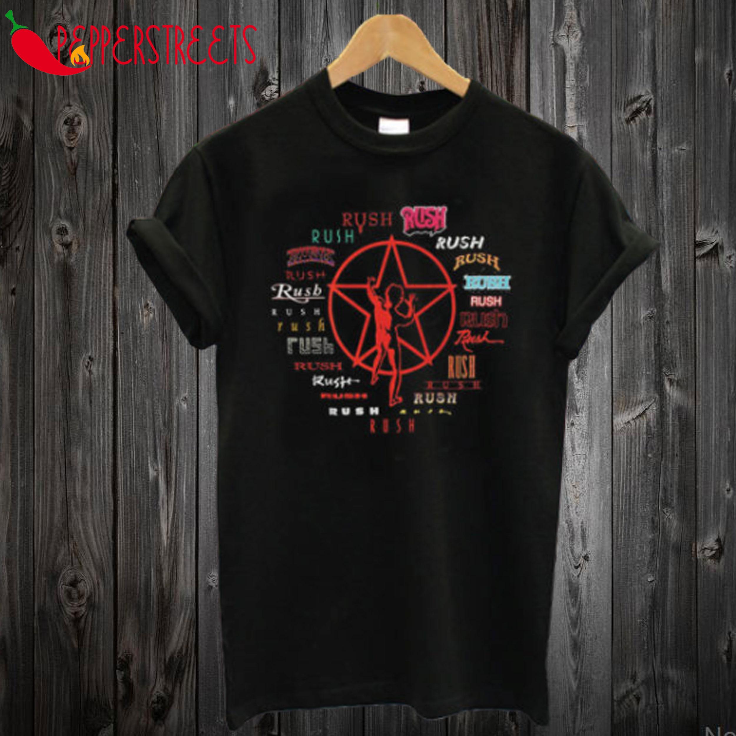 Rush – Evolution of Logo T-Shirt