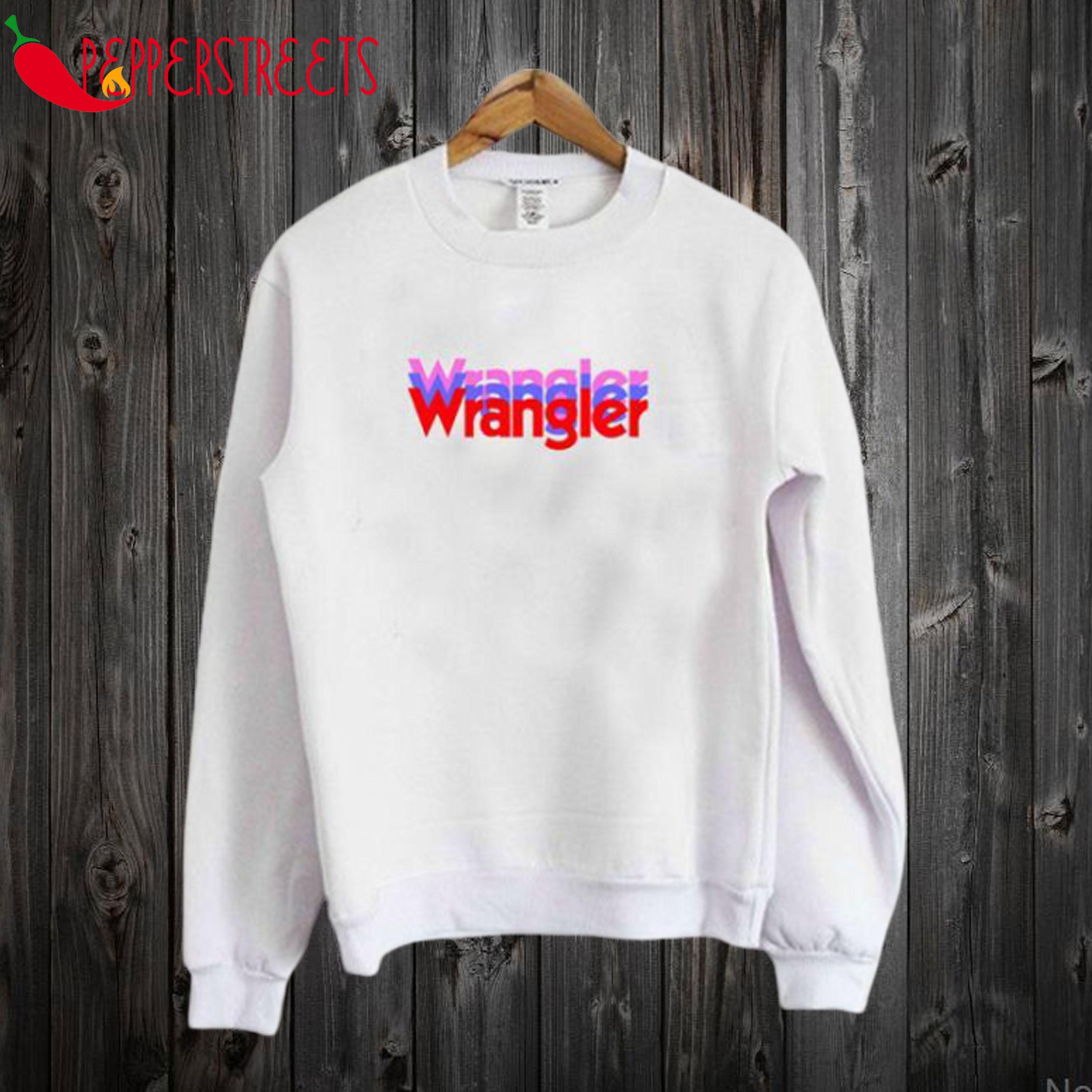 Wrangler Rainbow Sweatshirt