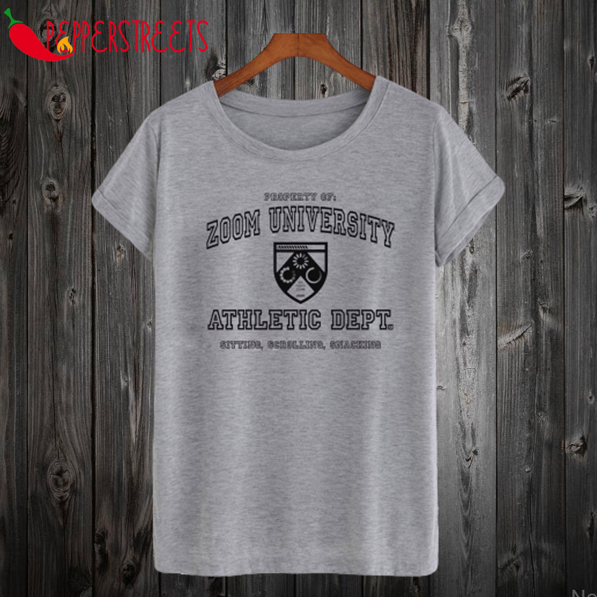Zoom University Athletic Dept T-Shirt