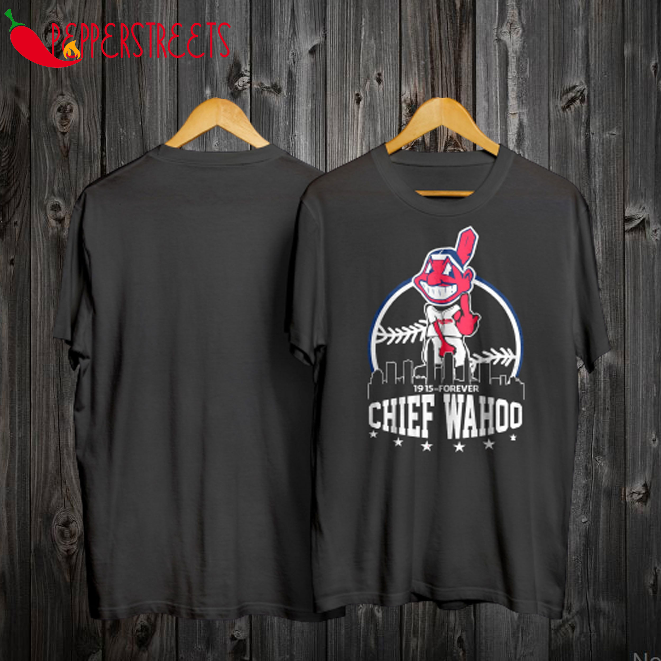1915 Forever Chief Wahoo T Shirt