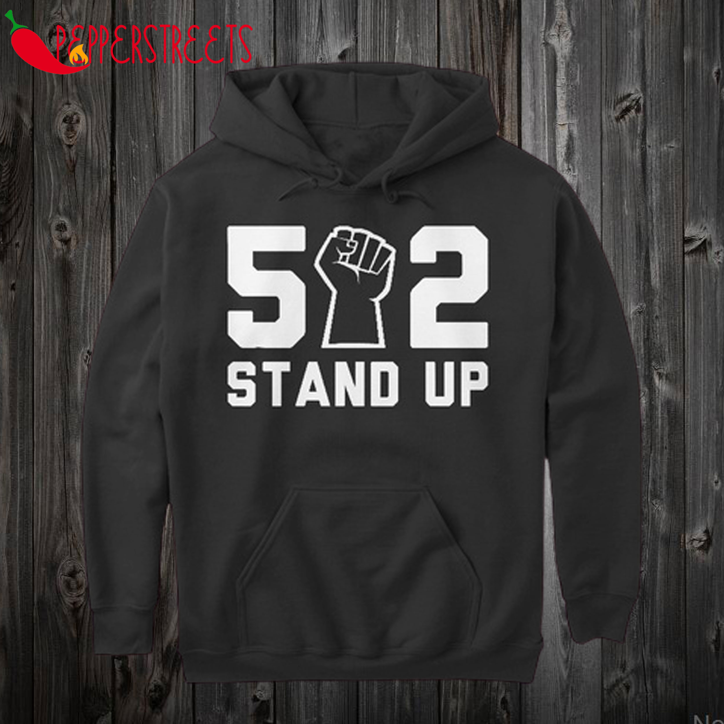 502 Stand Up Shirt BLM Hoodie