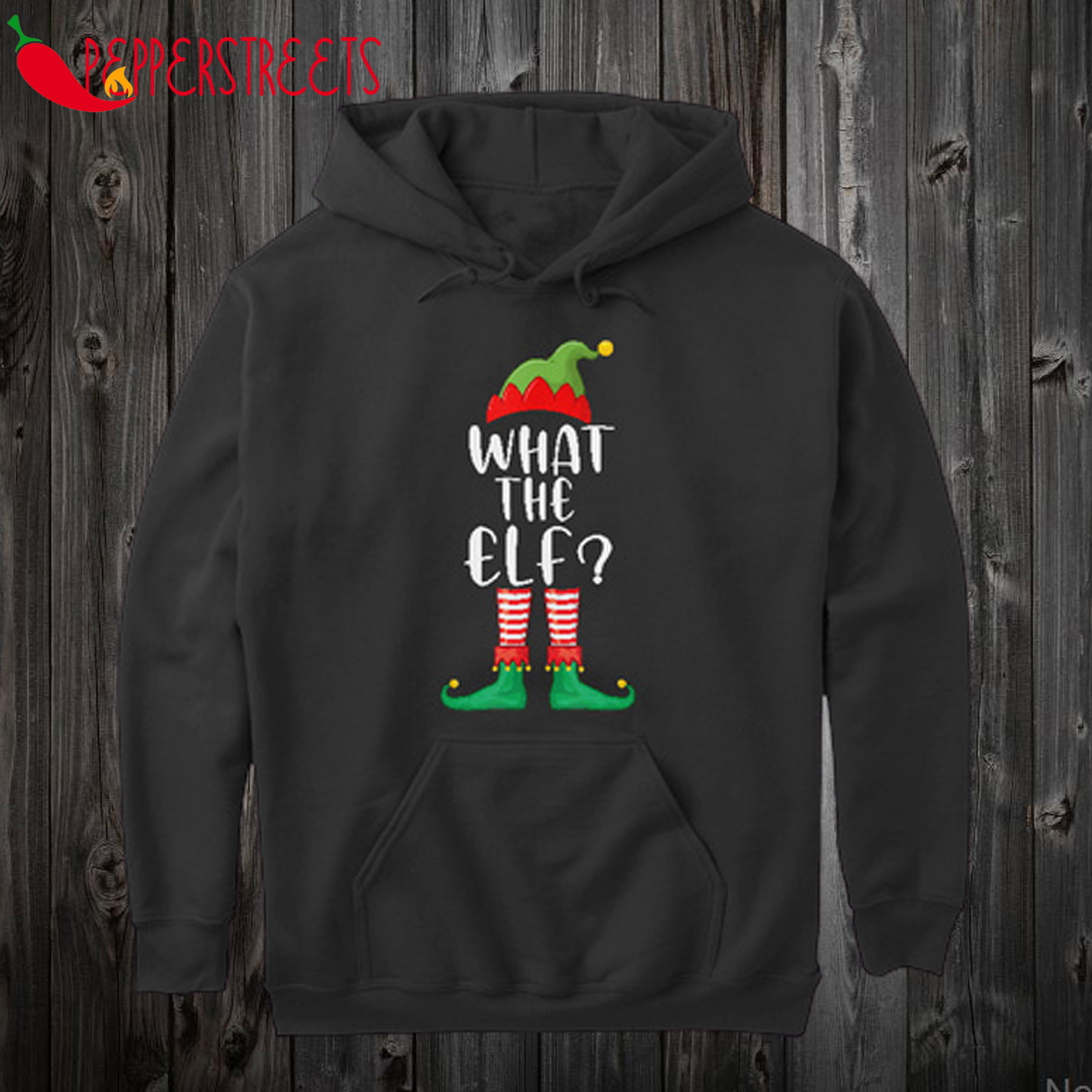 What The Elf Matching Family Hoodie
