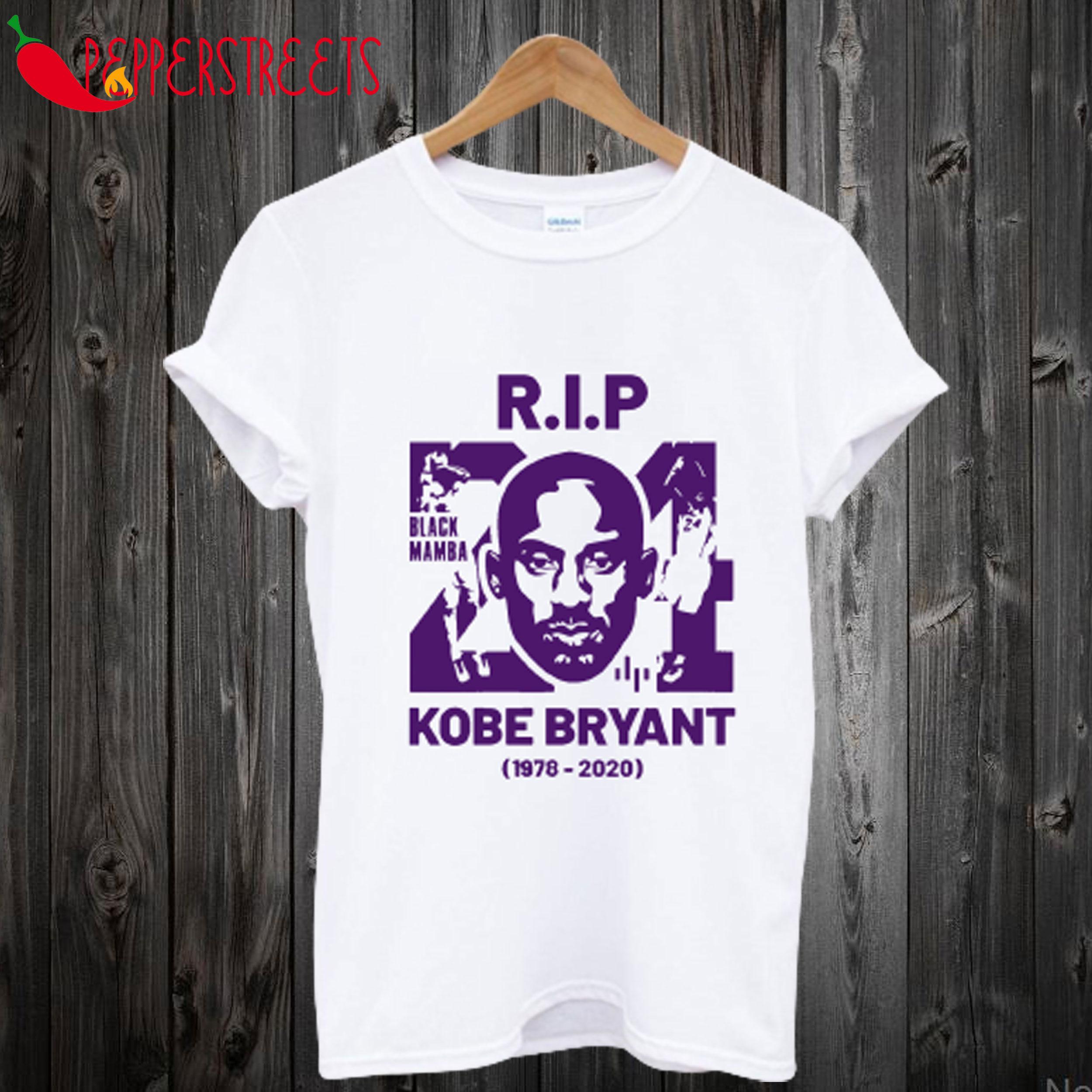 RIP Kobe Bryant 1978 2020 T Shirt