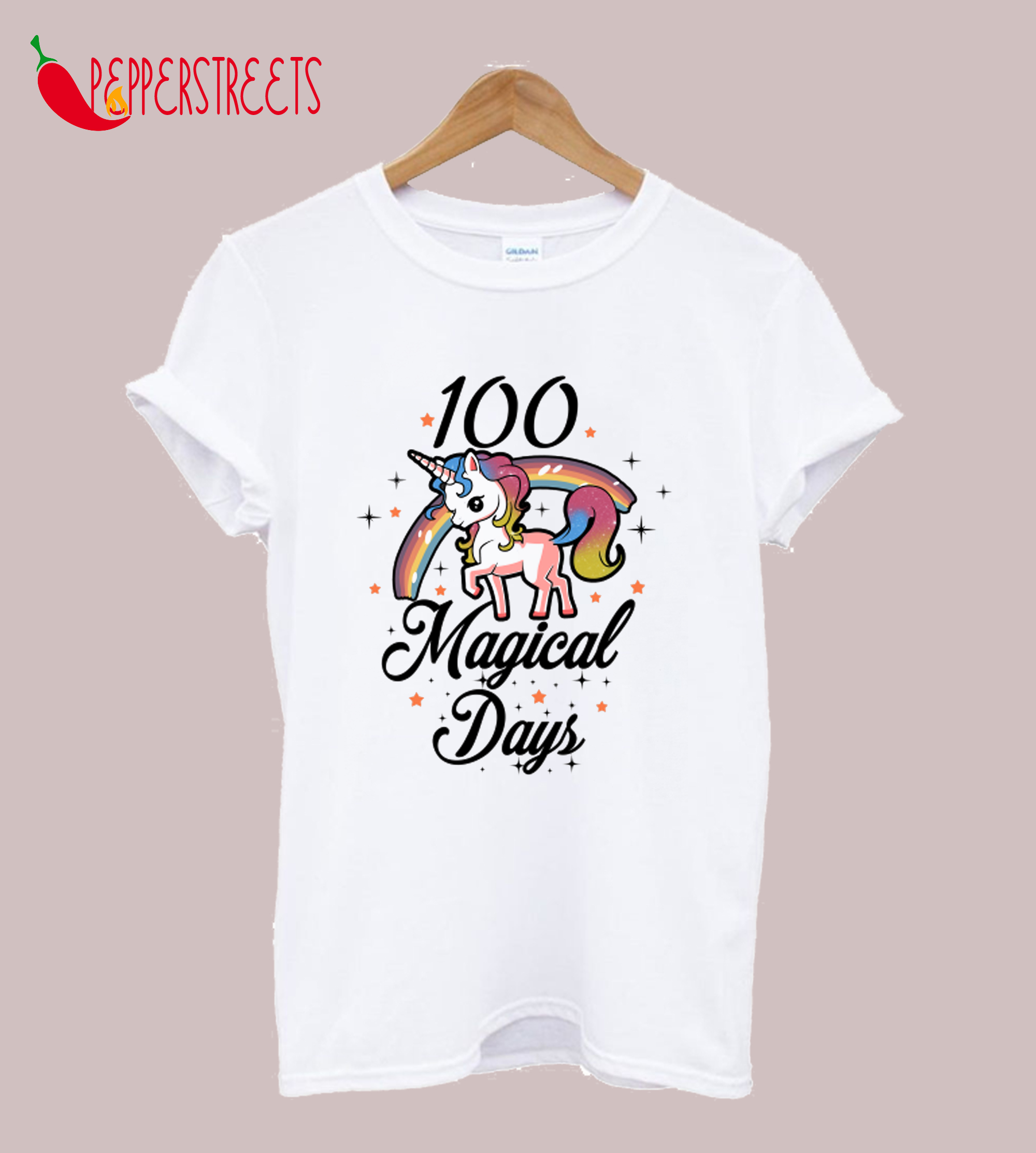100 Days Of School Cute T-Shirt