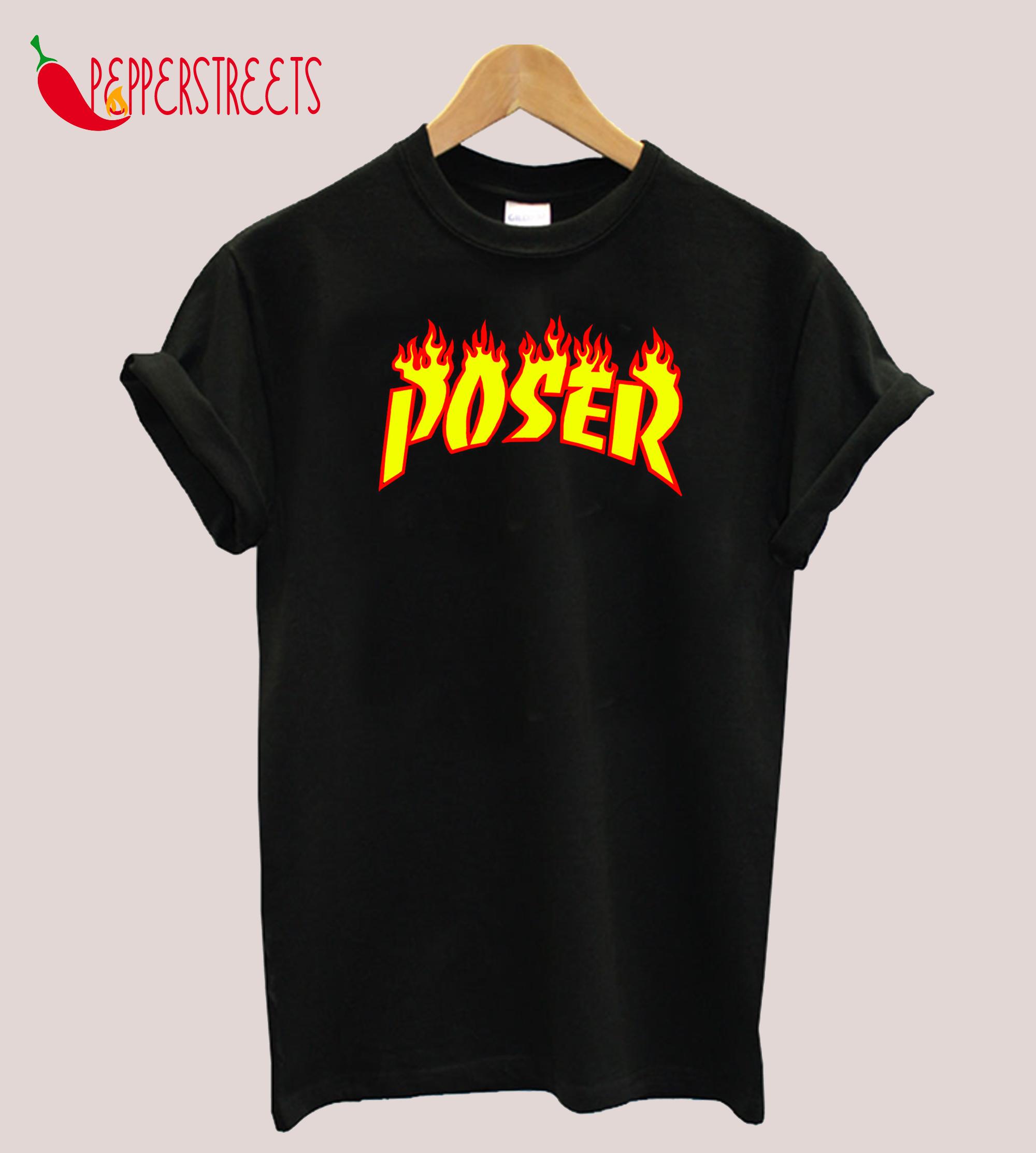 Trasher - Poser T-Shirt