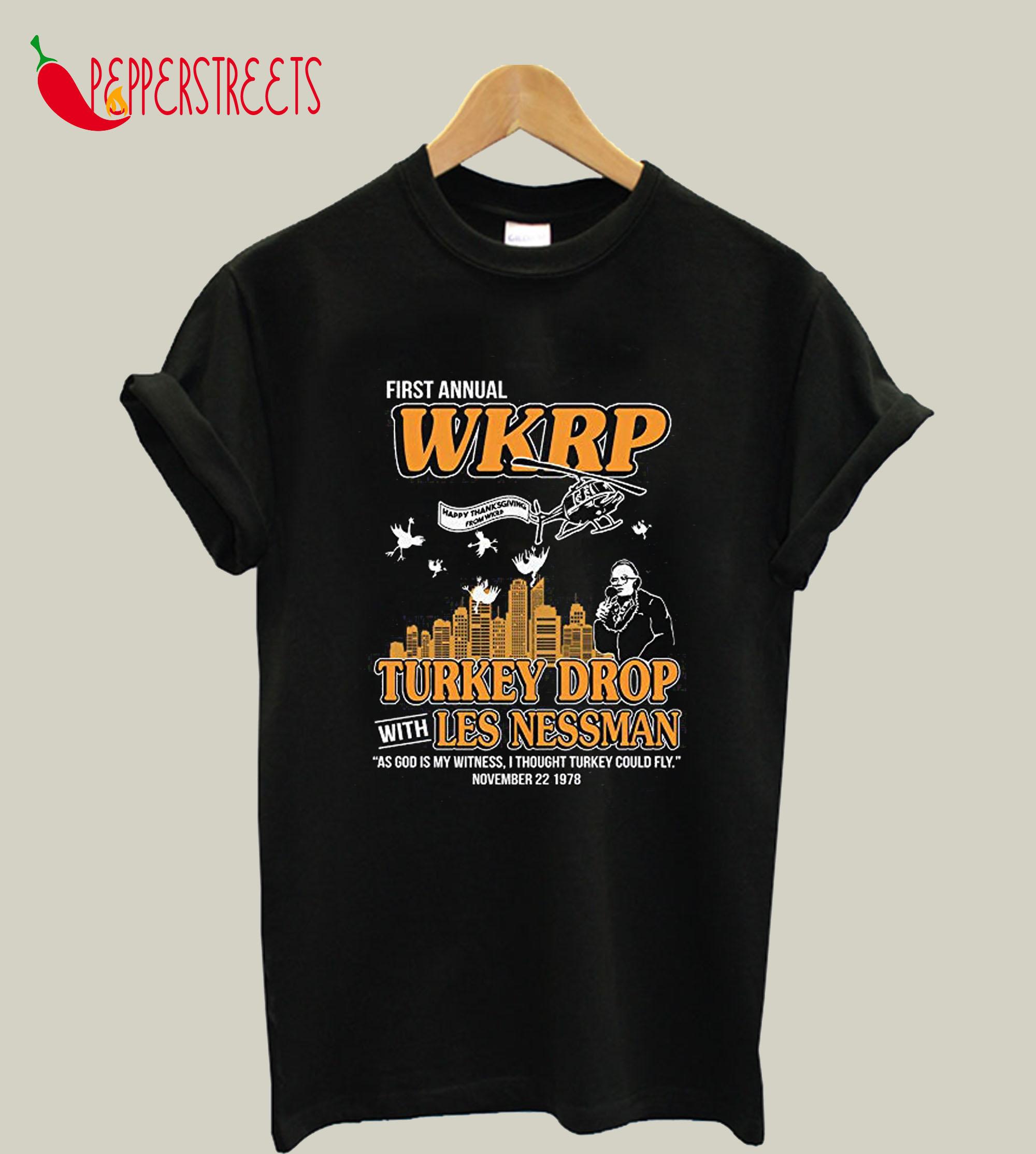 WKRP Turkey Drop T-Shirt