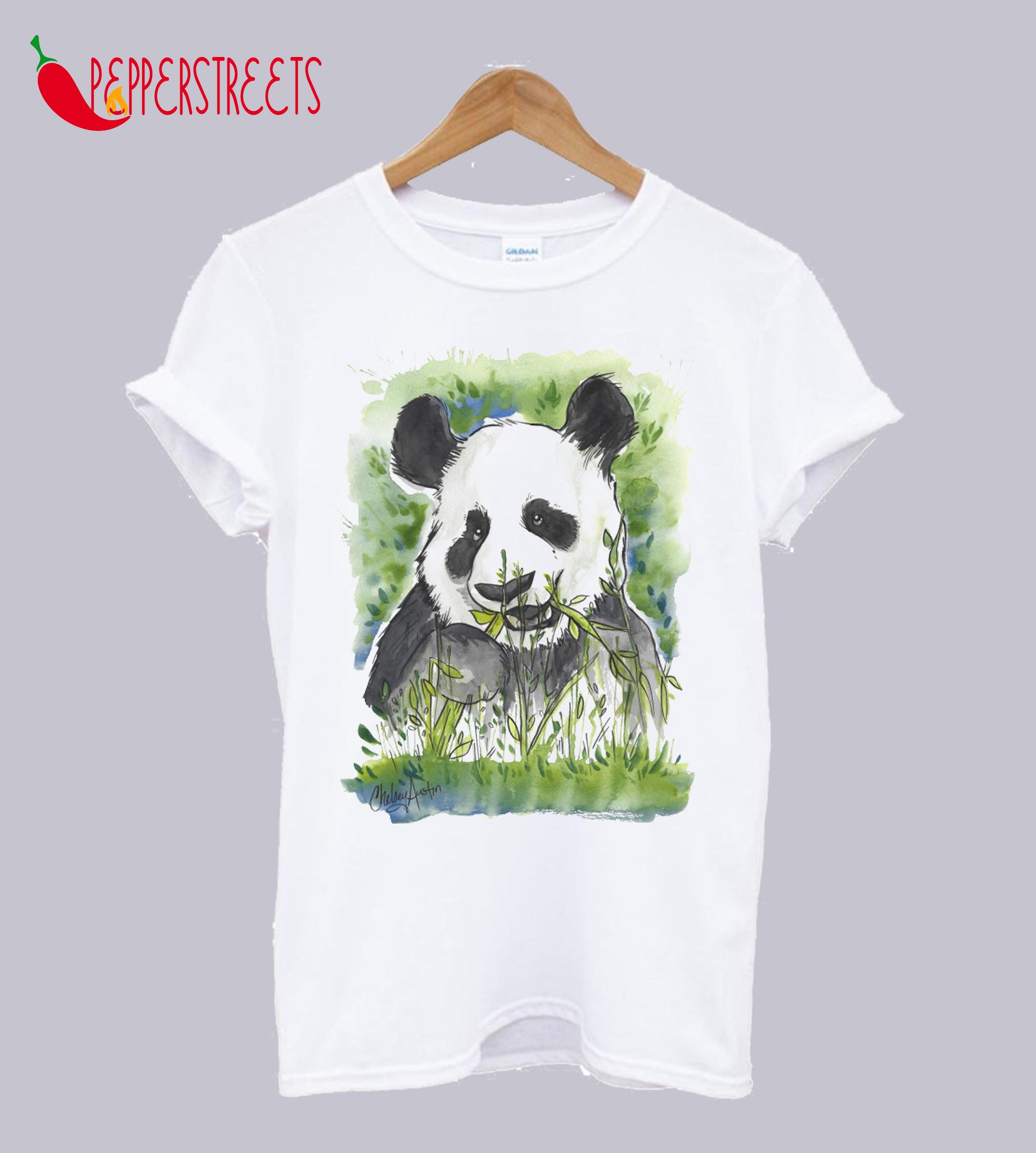 Watercolor Panda T-Shirt