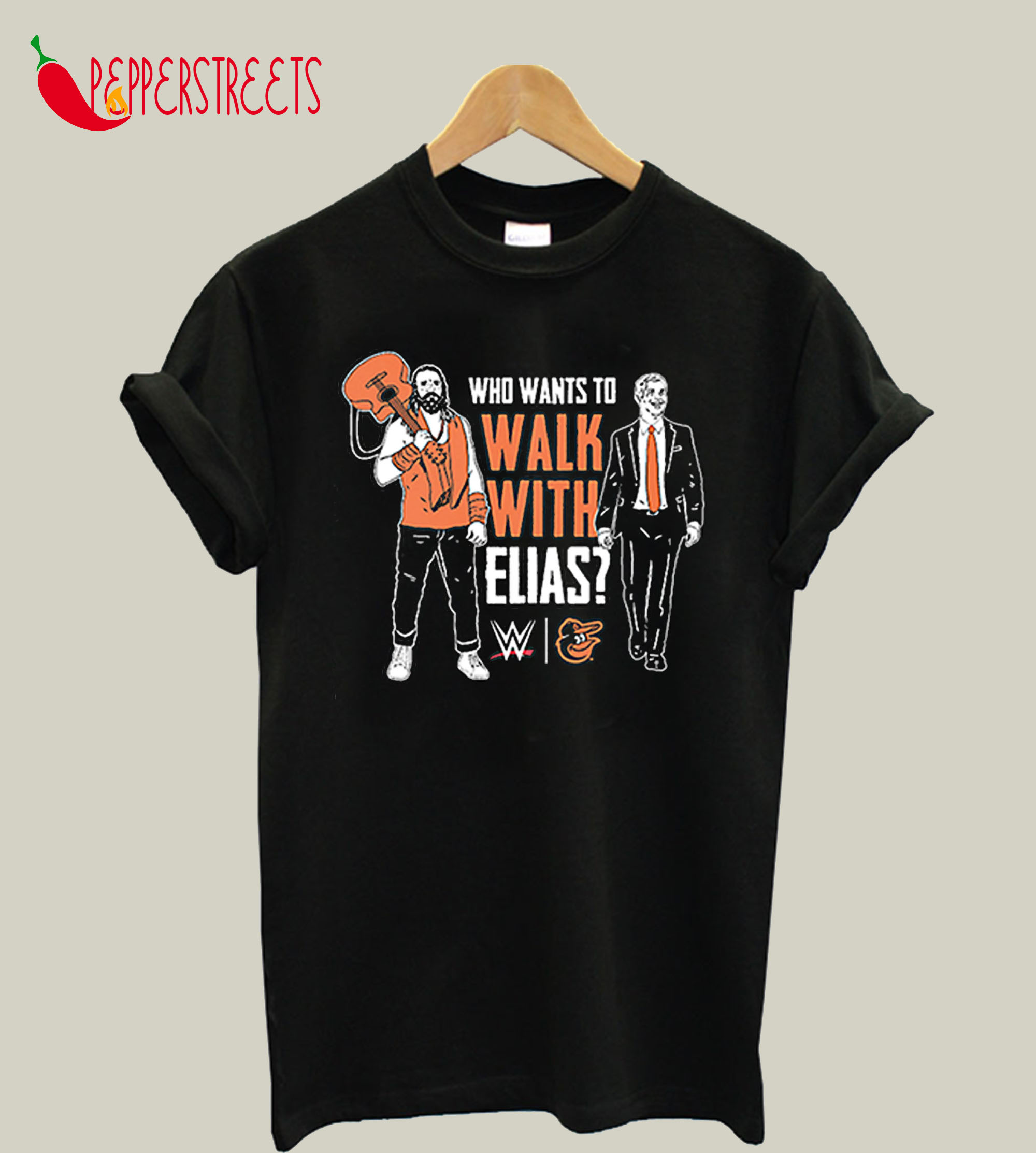 Who Want To Walk With Elias T-Shirt