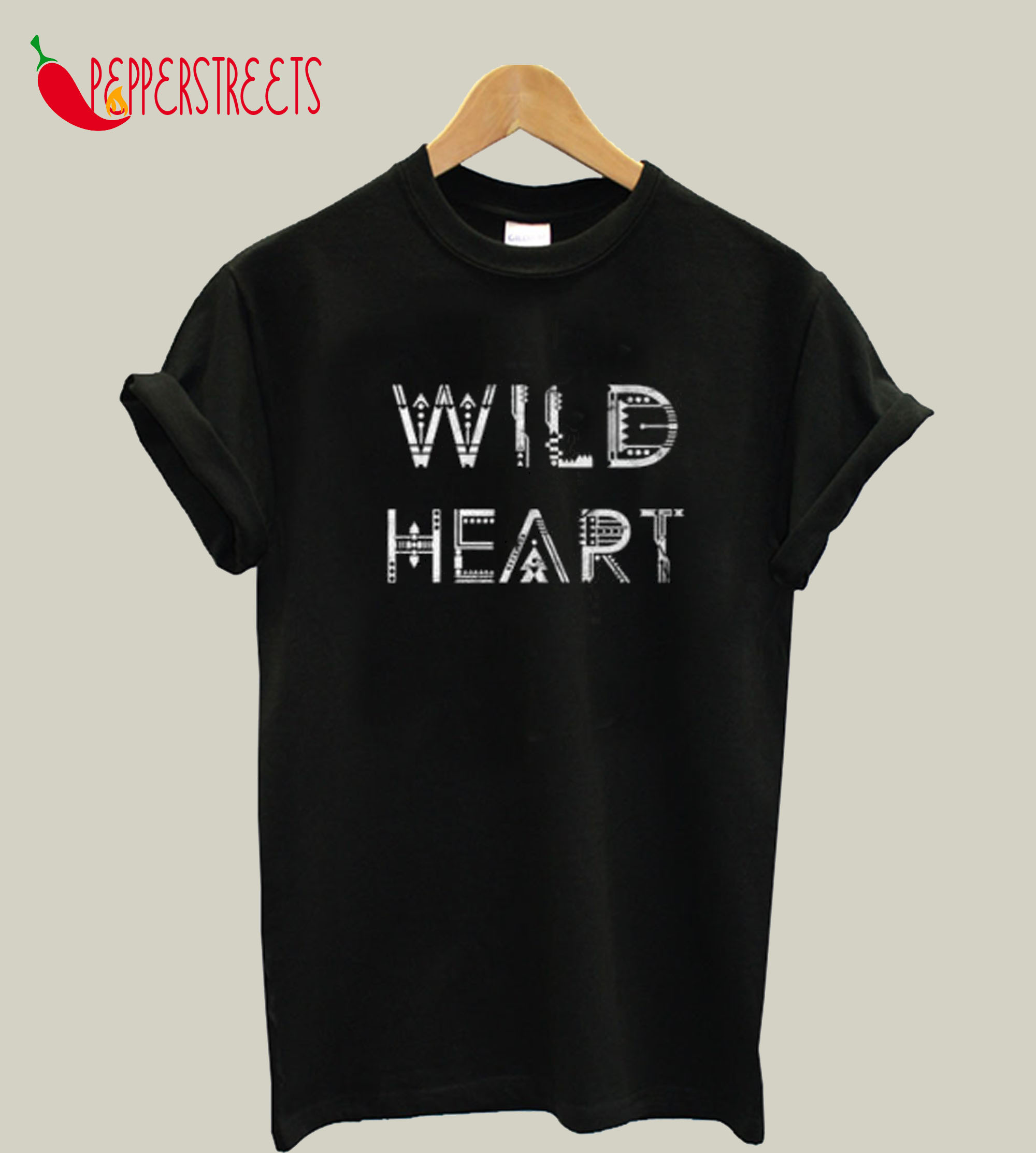 Wild Heart Tribal T-Shirt
