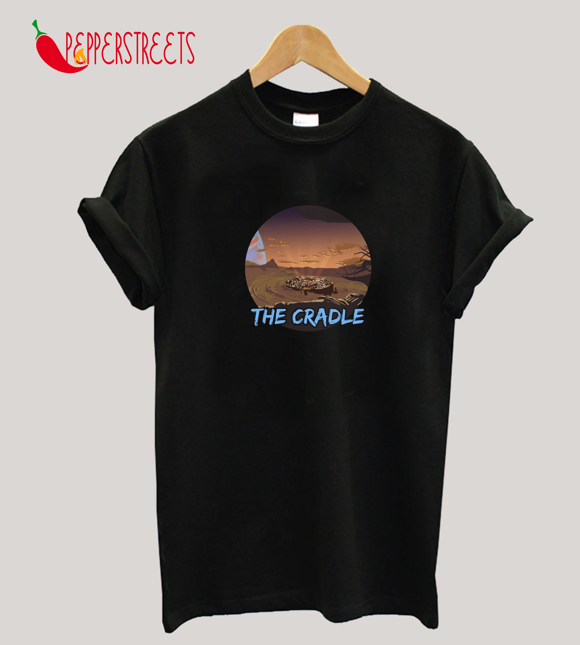 The Cradle Postcard T-Shirt