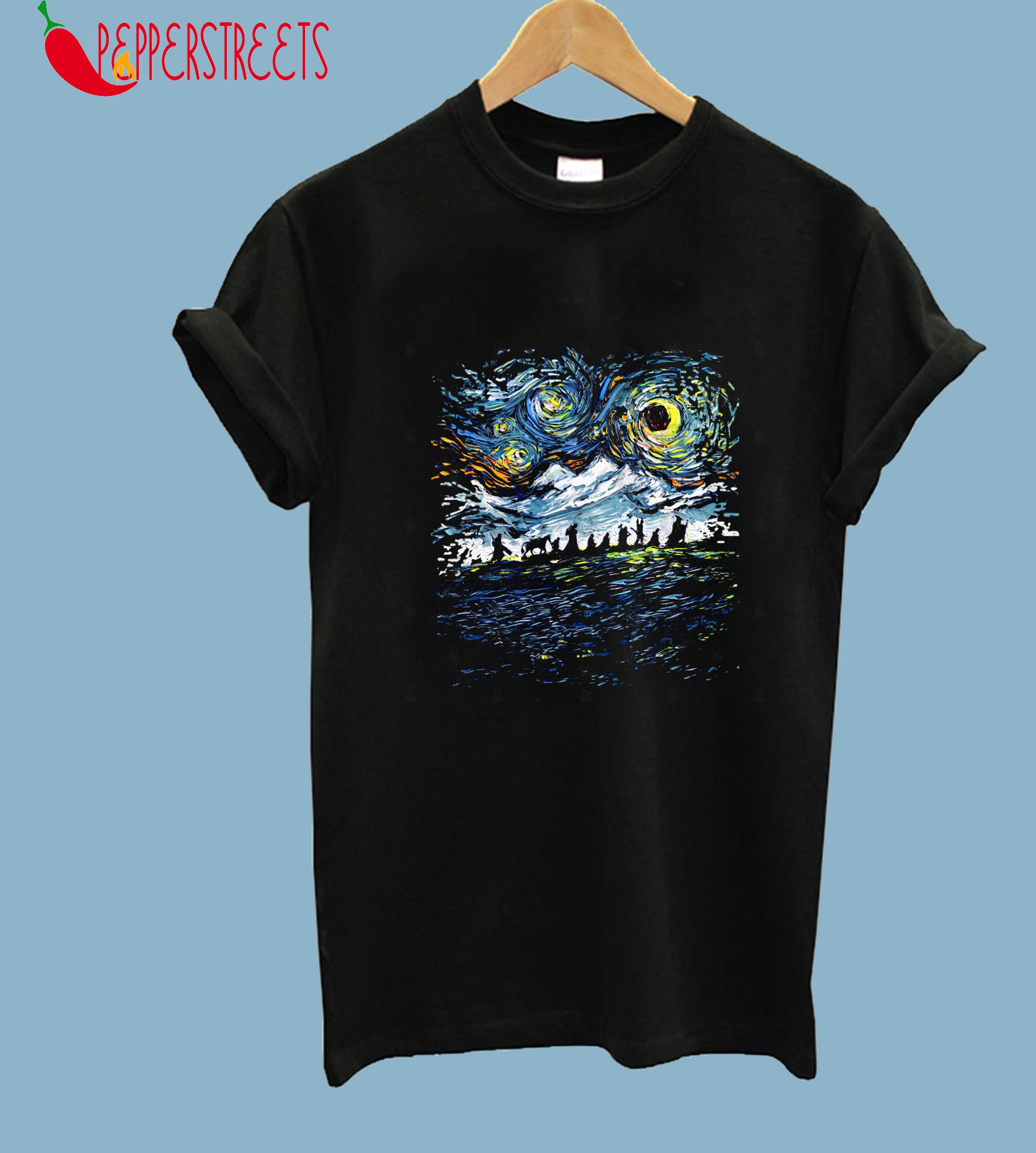 van Gogh Never Saw the Fellowship (version 2) T-Shirt